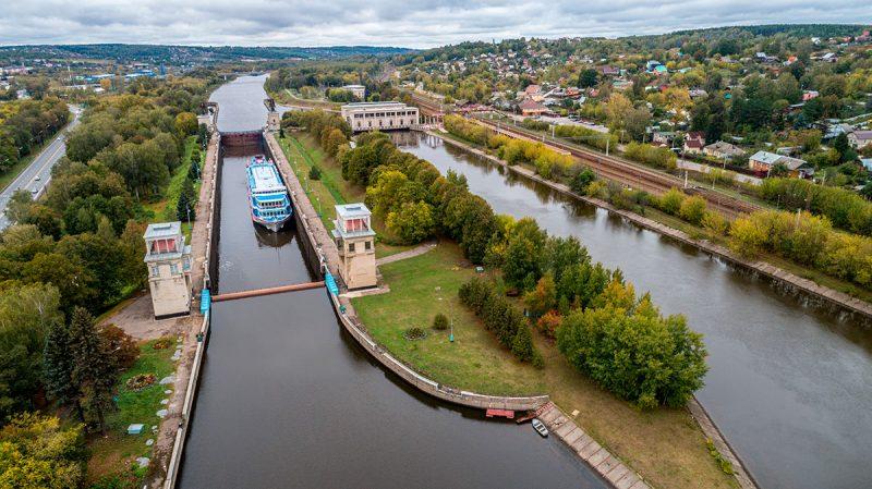 Канал имени Москвы. Шлюз №3. Яхрома