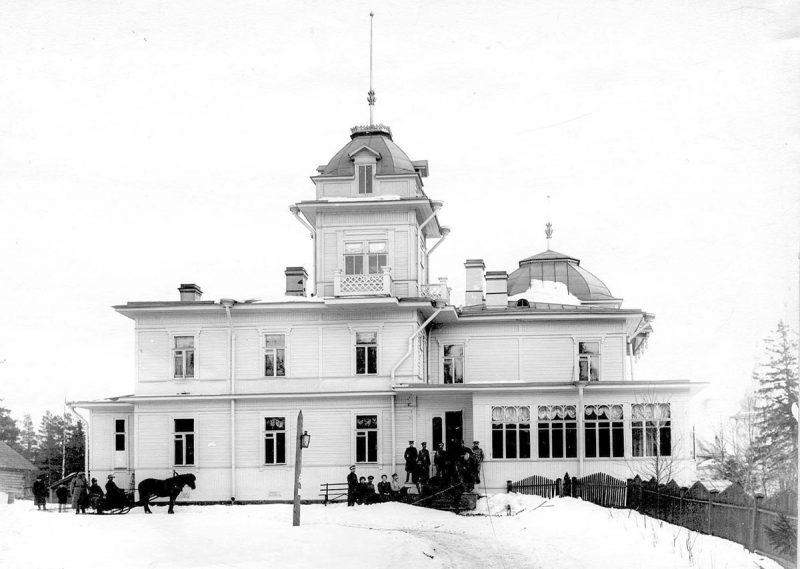 """Главный дом имения """"Мерихови"""" Б.Н.Ридингера, Куоккала"""