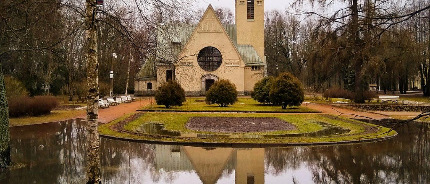 Лютеранская кирха Преображения Господня в Зеленогорске (Терийоки)
