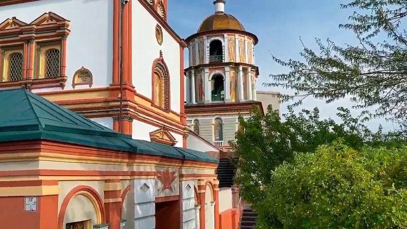 Колокольня Богоявленского собора, Иркутск