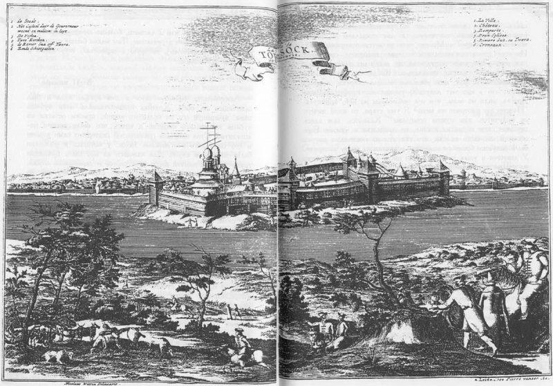 Николаас Витсен. Путешествие в Московию (1664—1665), Торжок