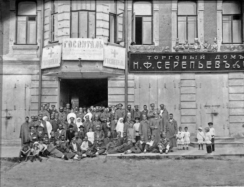 Госпиталь Всероссийского Земского союза, Кимры