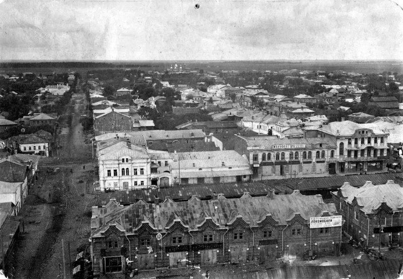 Панорама села Кимры, 1913-1917 годы