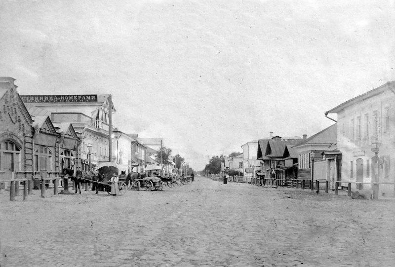 Большая улица (ныне ул.Володарского), Кимры