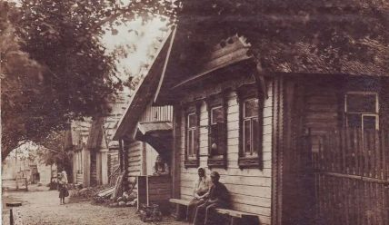 Деревня Низовка, родина крестьянского поэта Спиридона Дрожжина