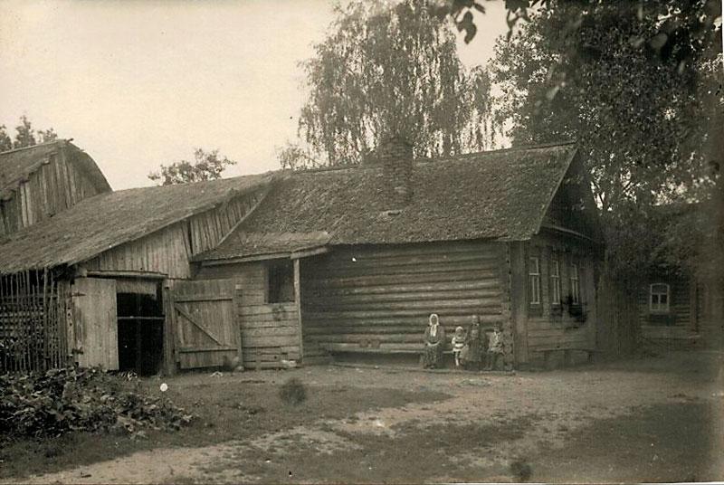 Дом в деревне Низовка, в котором часто бывал С.Д. Дрожжин. Источник: pastvu.com