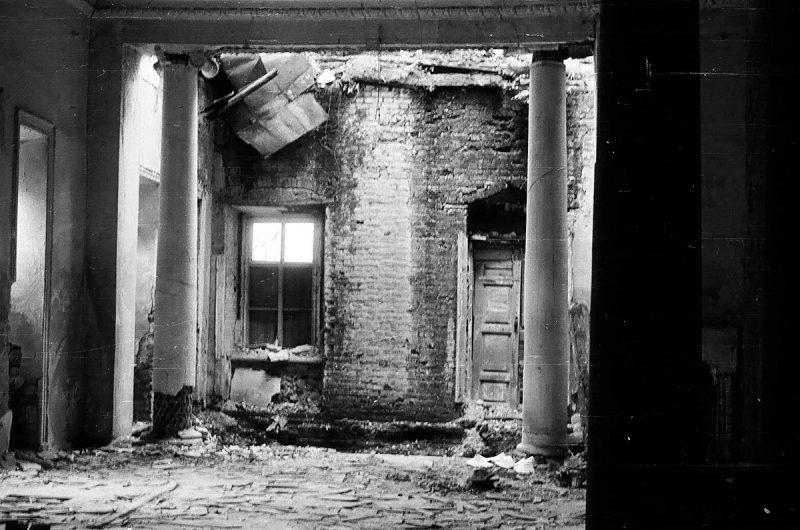 Одно из помещений главного дома, 1968 год