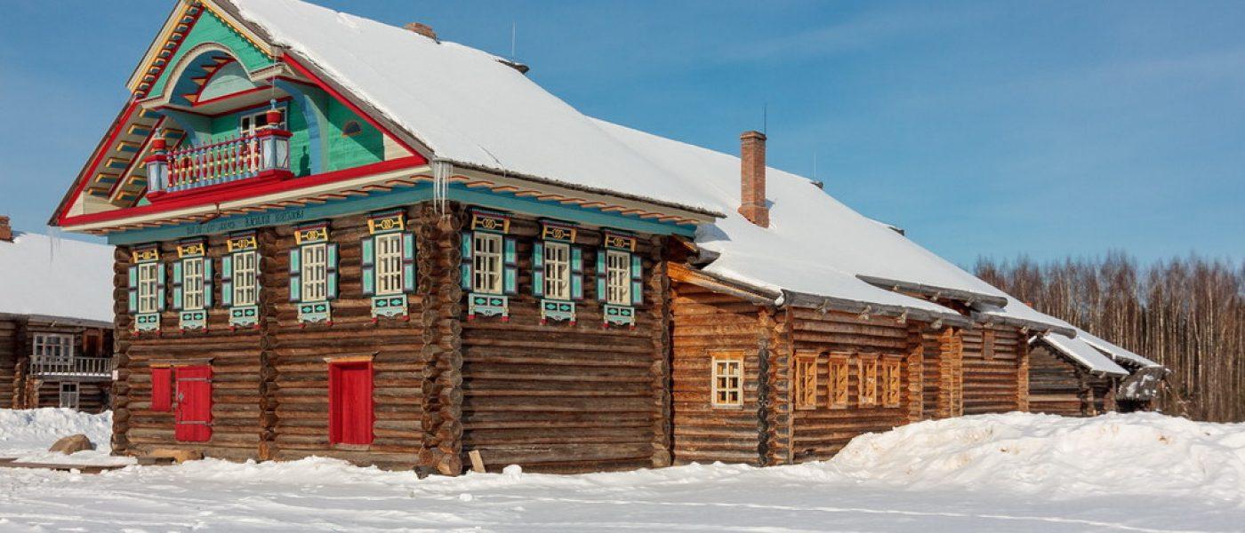 Деревянное зодчество Вологодской области в музее «Семёнково»: расписной дом В.Н.Копылова