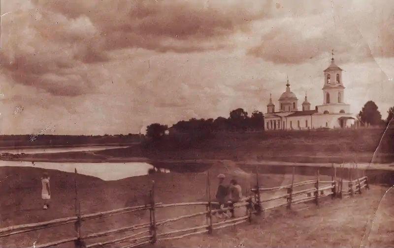 Церковь Воскресения Словущего, 1930 год