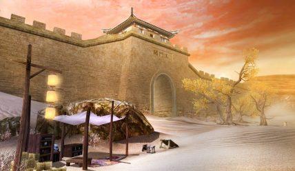 Пограничная застава Юймэньгуань и посвященное ей стихотворение «Луна над заставой и горами» поэта Ли Бо
