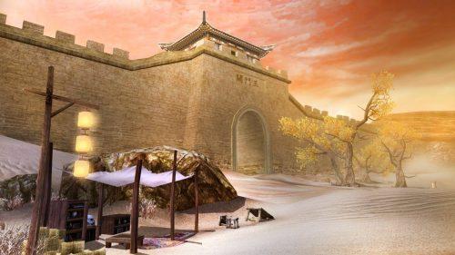 Застава Нефритовых ворот, Юймэньгуань, Китай
