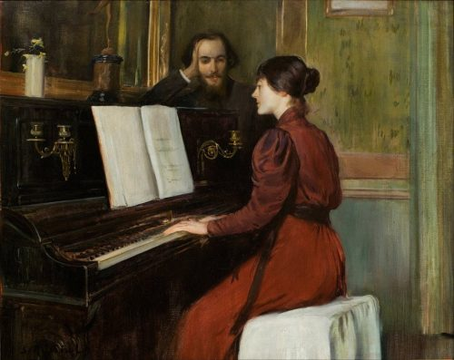 Une Romance. Santiago Rusiñol, 1894