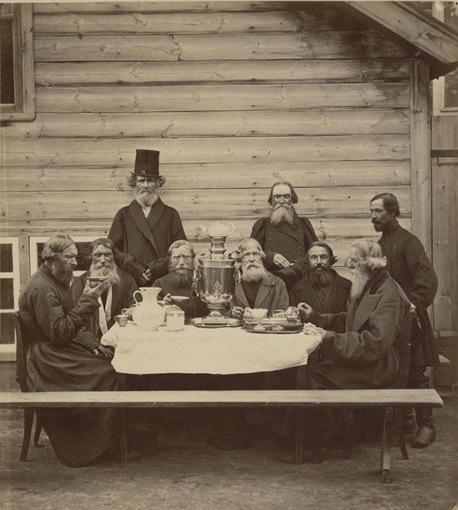 Чаепитие в Нижегородской губернии