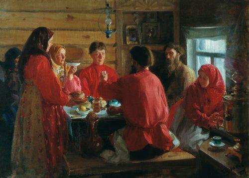 И.С.Куликов. В крестьянской семье.