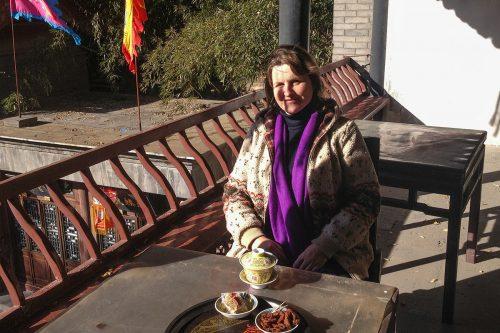 В любимой чайной на улице Сучжоу в парке Ихэюань