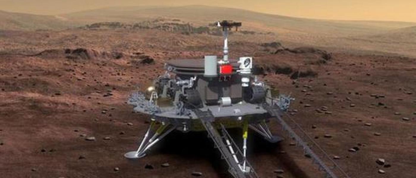 Марсианская миссия Китая: зонд «Тяньвэнь-1» успешно сел на поверхность Марса