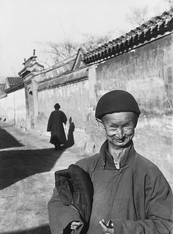 Старый евнух, фотография 1948 года
