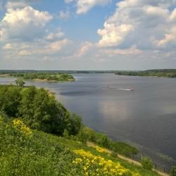 Волга в Городне