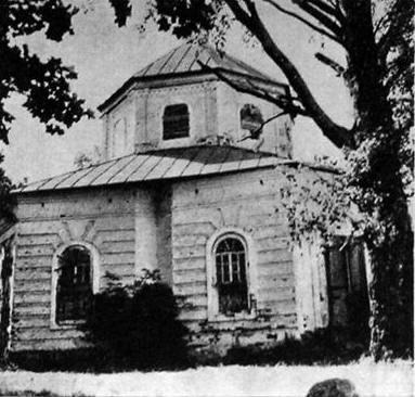 Церковь Обретения Креста Господня в Наговье