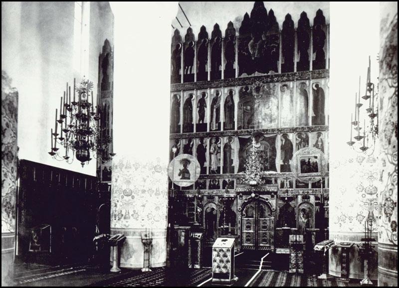 Федоровский собор, Иконостас