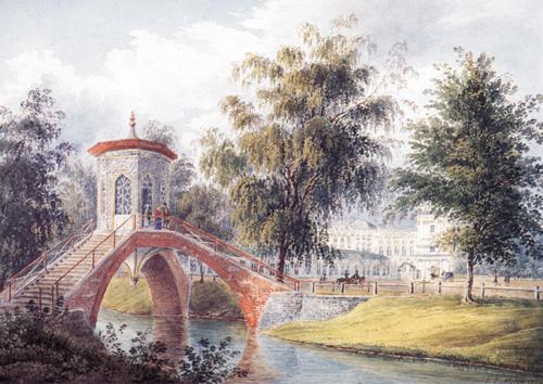 Крестовый мост на Крестовом канале в Царском Селе
