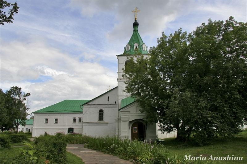 Александровская слобода, Успенская церковь