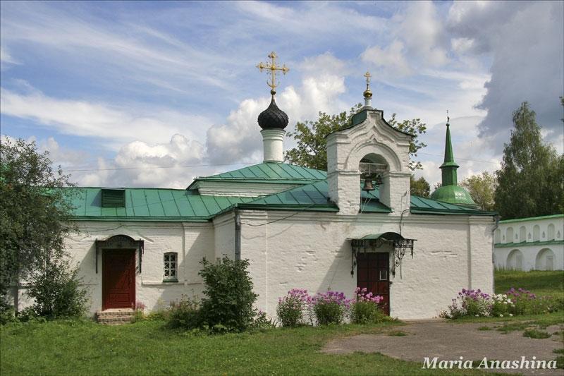 Александровская слобода, Сретенская церковь и Больничный корпус