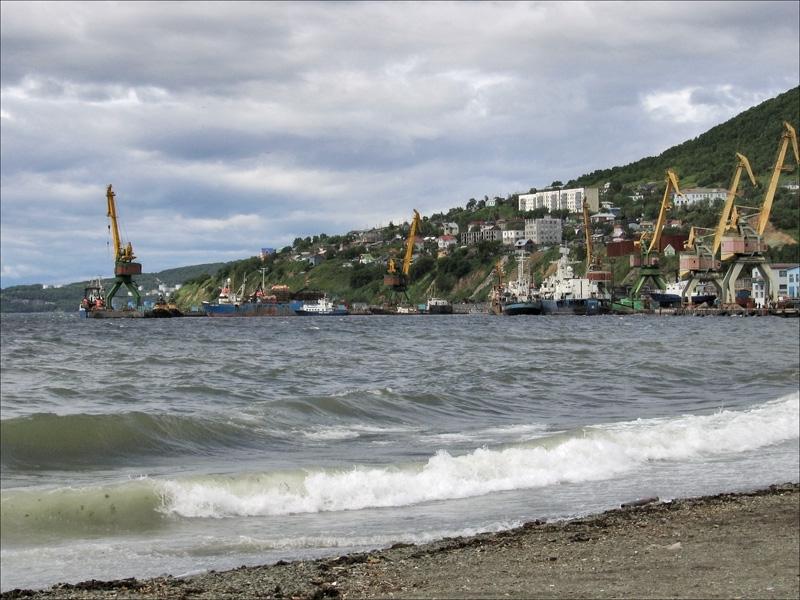 Петропавловск-Камчатский, Авачинская бухта, Камчатка