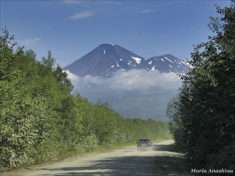 Авачинский вулкан, Камчатка