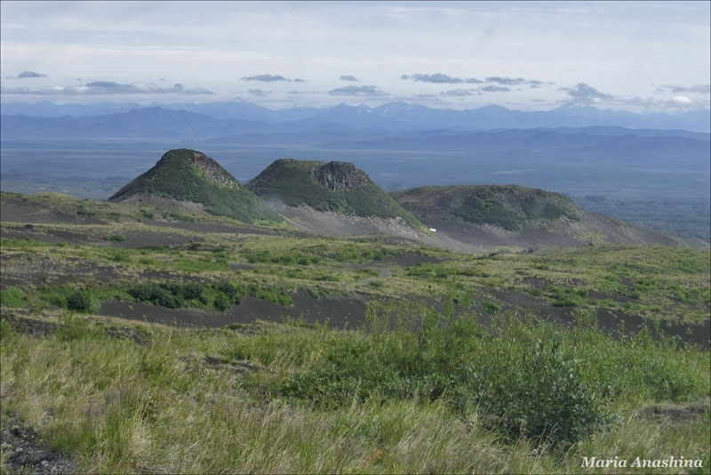 Побочные конуса Козельского вулкана, Камчатка
