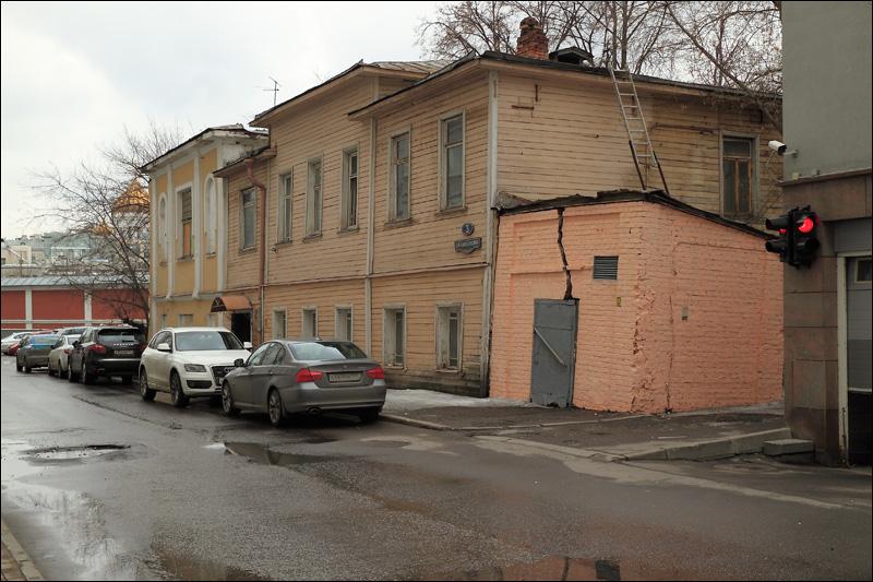 3-й Зачатьевский переулок, дом 3