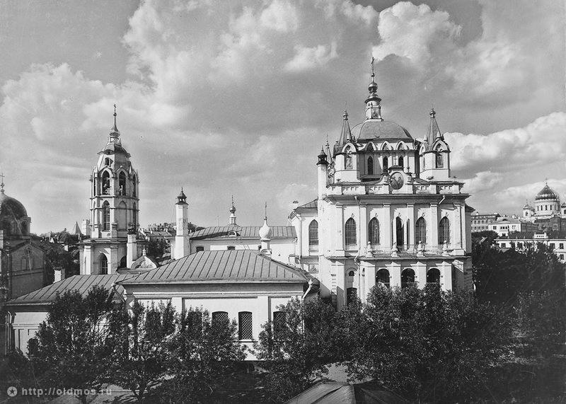 Зачатьевский монастырь в конце XIX - начале XX века