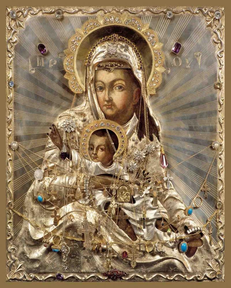 """Зачатьевский монастырь, чудотворная икона Божией Матери """"Милостивая"""""""