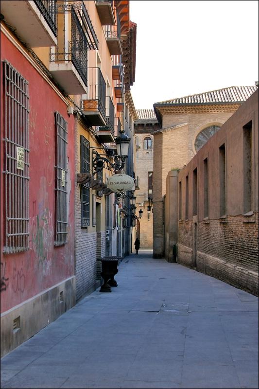 Старинная улица Сарагосы