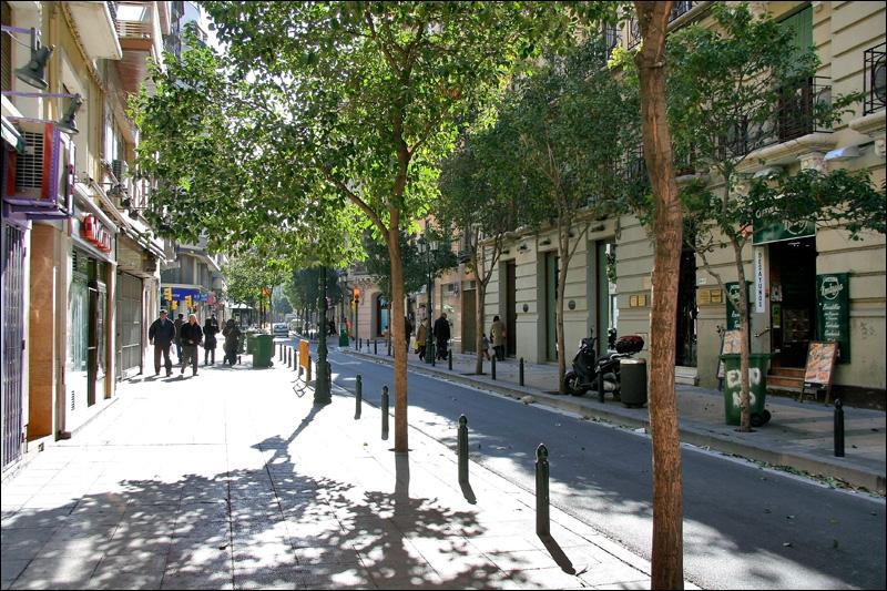 Улица в центре Сарагосы