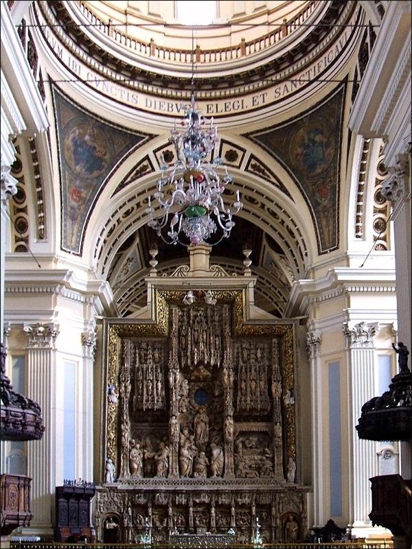 Алтарь Базилики-де-Нуэстра-Сеньора-дель-Пилар