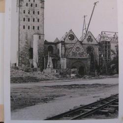 Фотографии разрушения собора во время Второй мировой войны