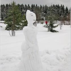 Снежная девушка
