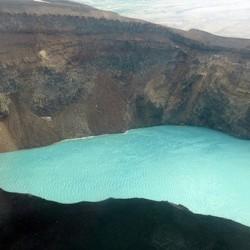 Озеро в кратере вулкана Photo: © Maria Anashina