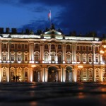 Вечерний Зимний дворец