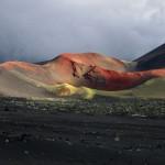 Красный конус на Толбачике