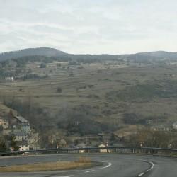 Дорога в Восточных Пиренеях