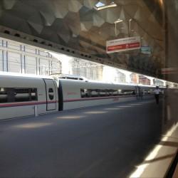 Сапсаны на Московском вокзале Санкт-Петербурга