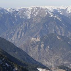 Андорра, Энкамп - вид с вершины горы
