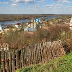 Панорама Гороховца с Никольской горы