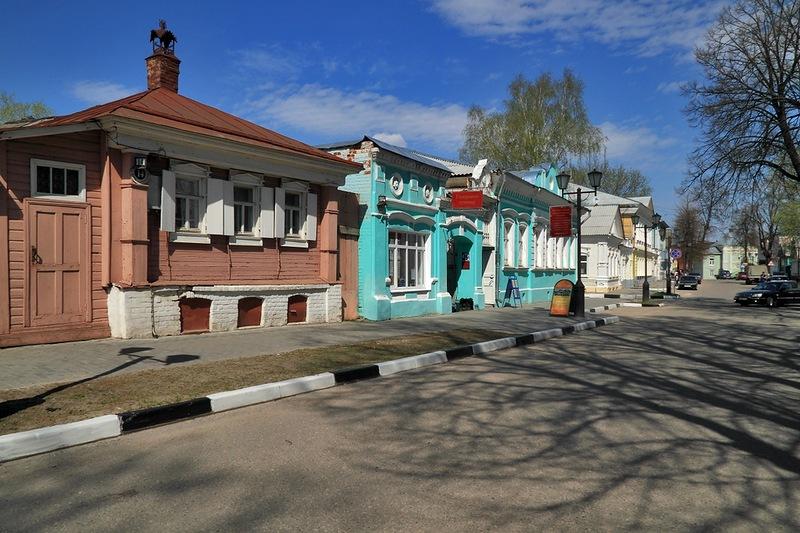 Городец - старинный город на Волге: anashina.com/gorodec