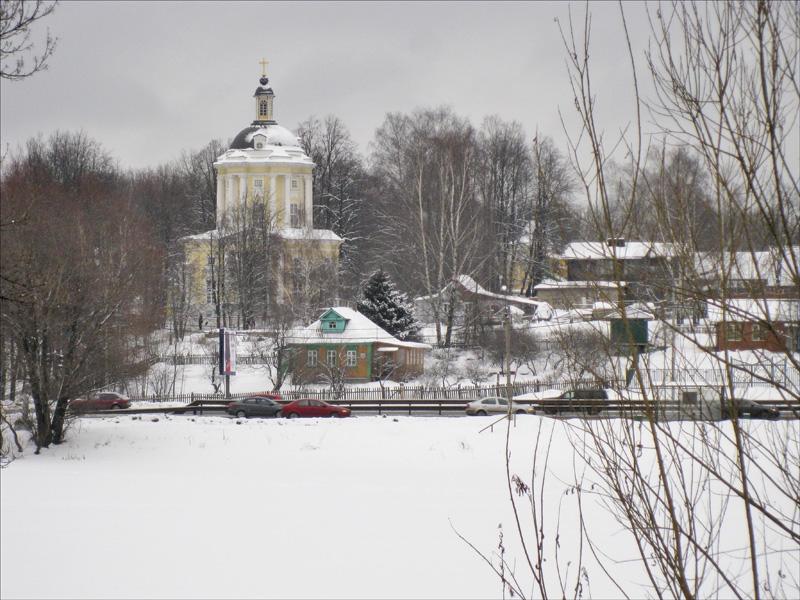 Церковь Владимирской иконы Божией Матери в Виноградово