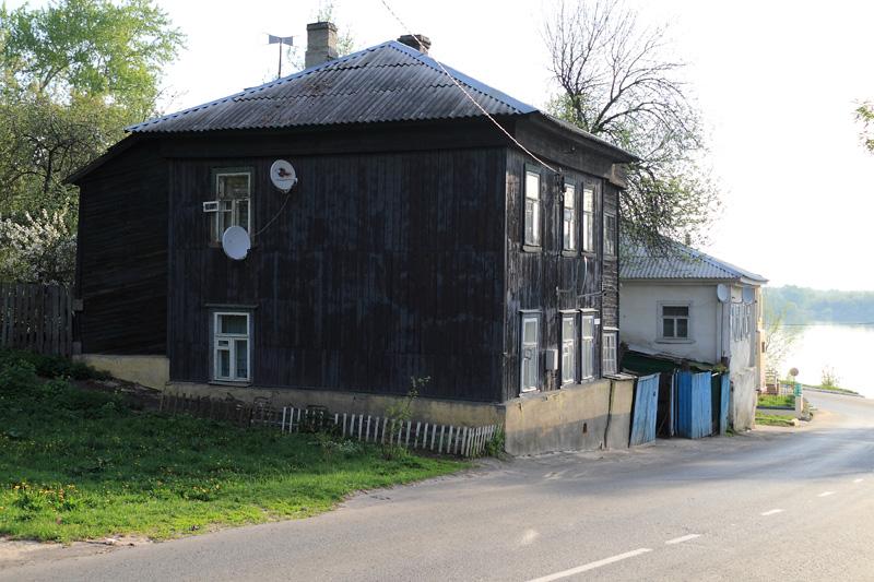Муром, старинные дома по Октябрьской улице