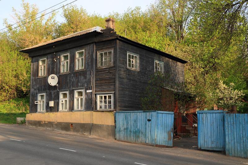 Муром, старый дом по Октябрьской улице