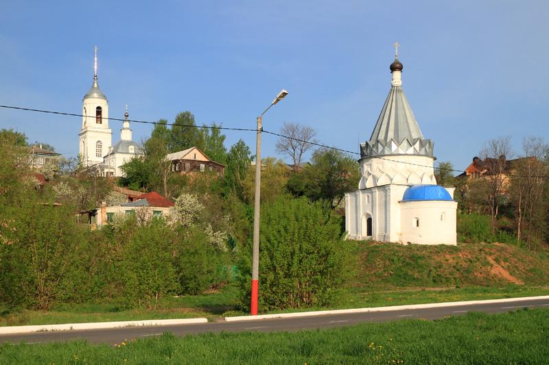 Муром, Смоленская церковь и церковь Косьмы и Дамиана
